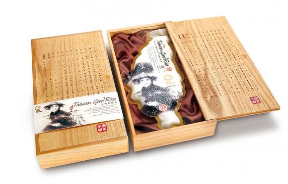 Подарочная упаковка риса – Victor Design branding solution