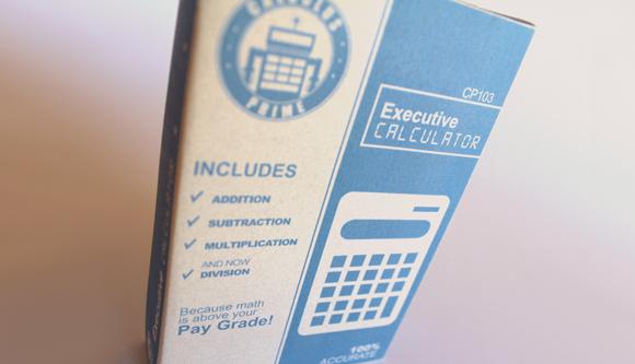 Концепт упаковки для калькулятора