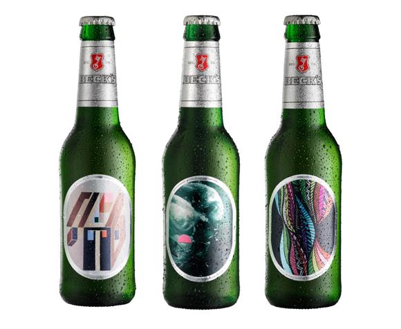 Упаковка пива Beck's