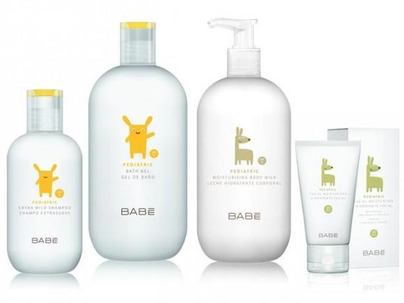 Упаковка для детской косметики Babé - Lavernia & Cienfuegos Design