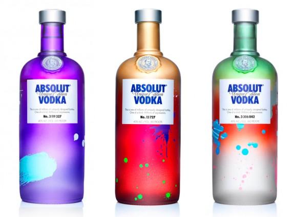 "Дизайн бутылки ""Absolut Unique"""