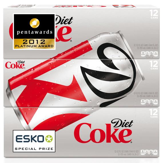 Упаковка Diet Coke – Turner Duckworth