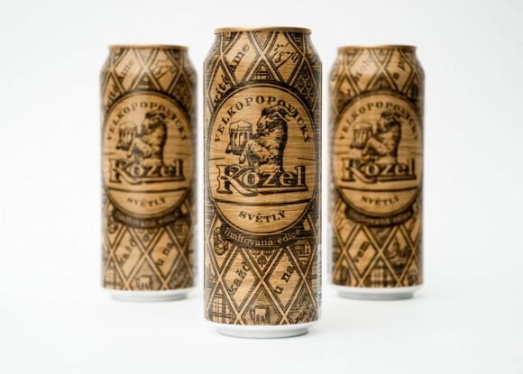 Упаковка пива Kozel – Yurko Gutsulyak