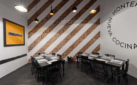 Брендинг ресторана Montero – интерьер