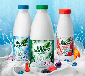 Упаковка кисломолочных продуктов Био Баланс