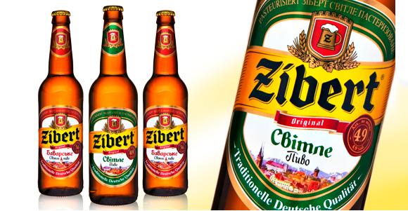 Упаковка пива Zibert – агентство POLARIS
