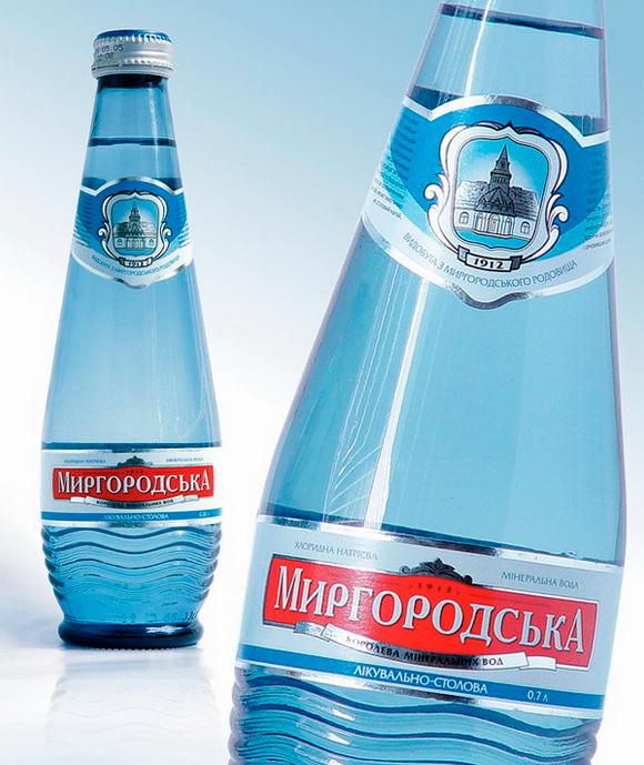 Упаковка воды «Миргородська» – агентство POLARIS