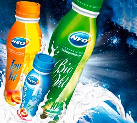 Упаковка кисломолочных продуктов NEO Idea