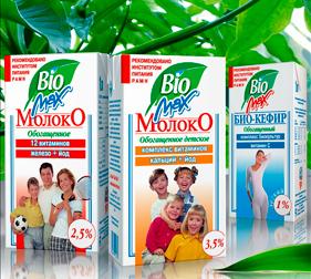 Упаковка молока BioMax