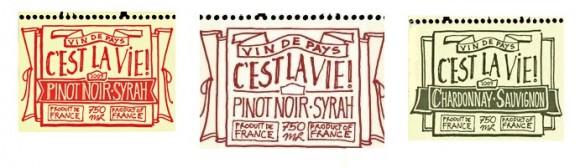Этикетки для винных бутылок – студия Paprika