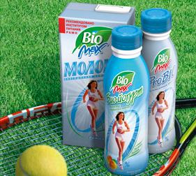 Упаковка молочных продуктов BioMax