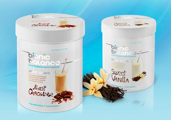 Упаковка напитка Bionic Balance