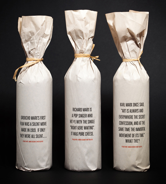 Упаковка вина – Marx Design
