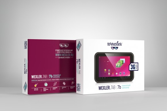 Упаковка планшетов WEXLER