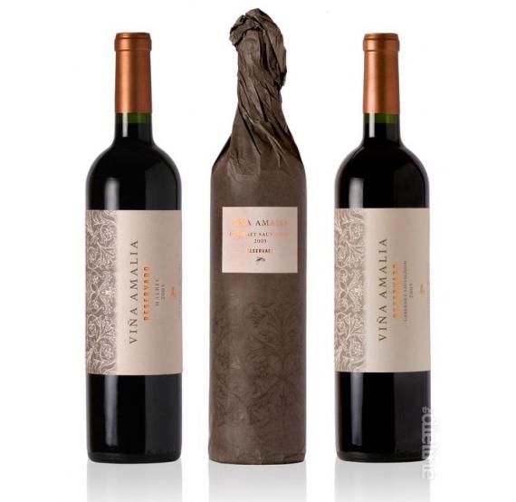 Дизайн этикетки винной бутылки