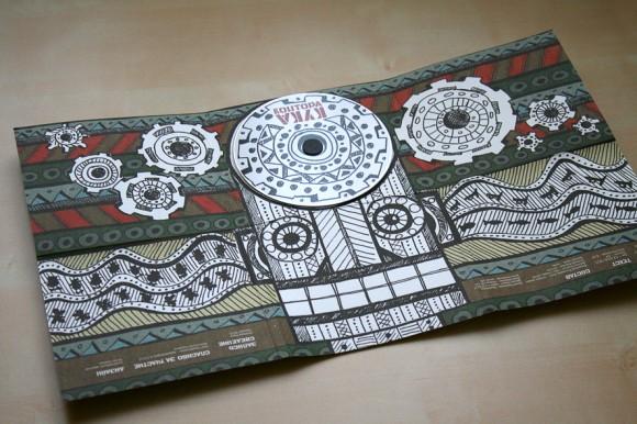 Картонная упаковка диска Контора Кука