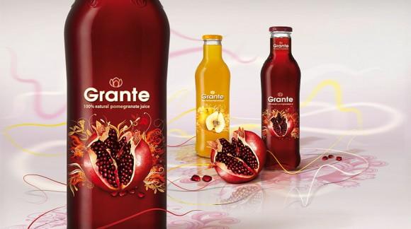 Упаковка сока Grante