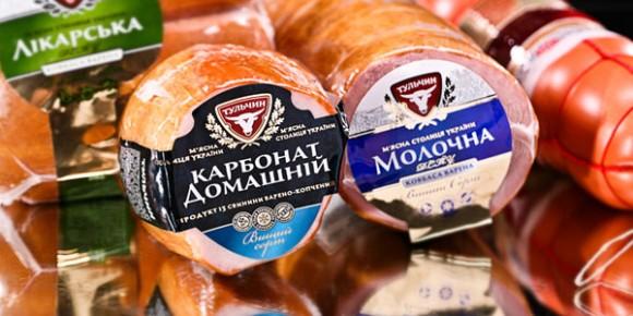 Этикетка для мясной продукции Тульчин – агентство POLARIS