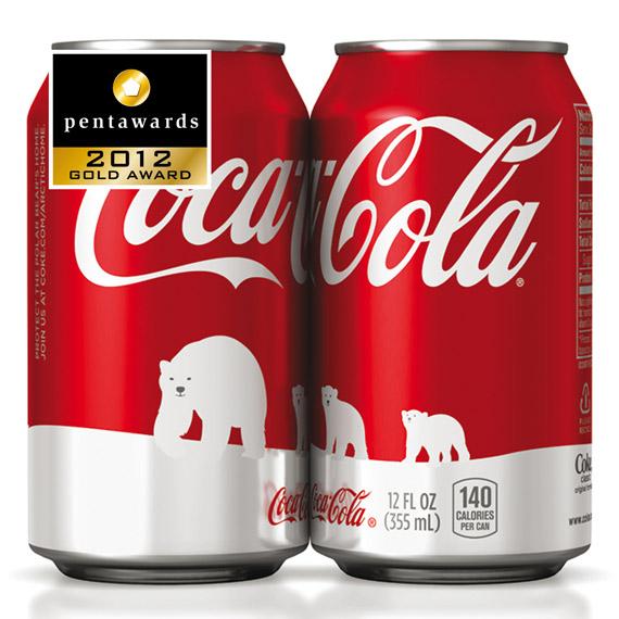 Упаковка Coca Cola– Turner Duckworth