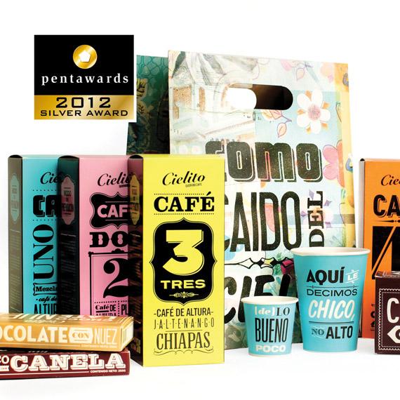 Упаковка для кафе – Сadena + Asociados Branding