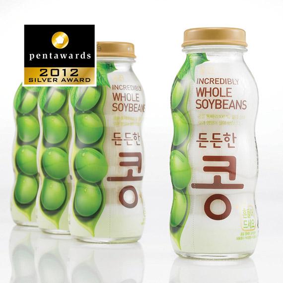 Упаковка соевого напитка – Woongjin Foods