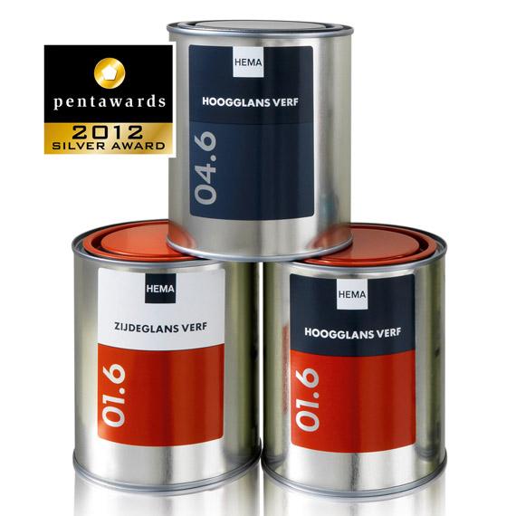 Упаковка краски – PROUDdesign BV
