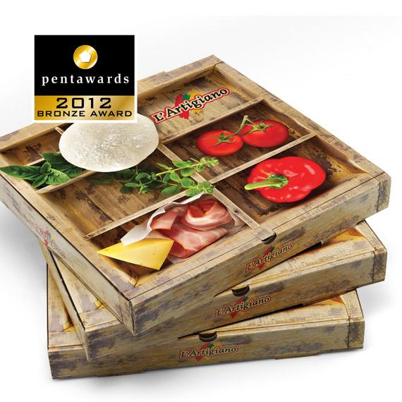 Упаковка пиццы – 2yolk Branding & Design Agency