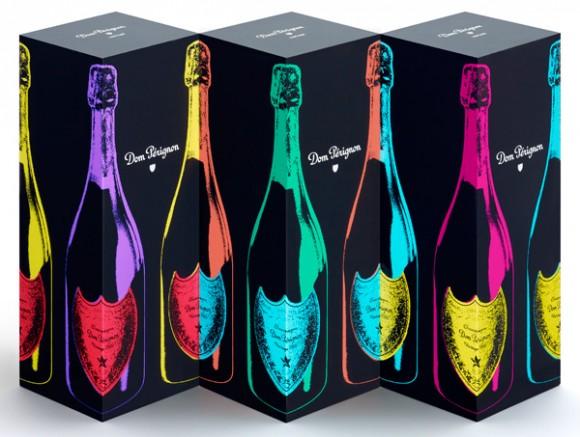 Упаковка limited edition вина Don Perignon