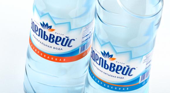 Ребрендинг минеральной воды «Эдельвейс» – STUDIOIN