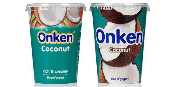 Упаковка йогурта - Onken