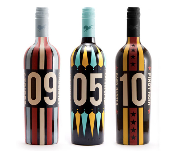 Дизайн бутылок вина
