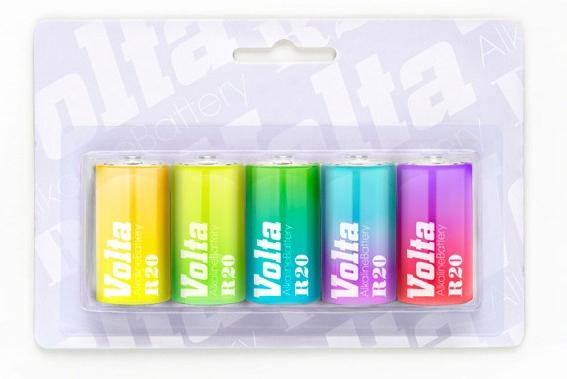 Дизайн упаковки батареек