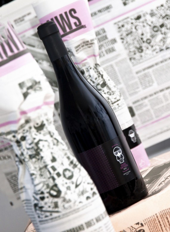 Бутылка вина BRND WGN