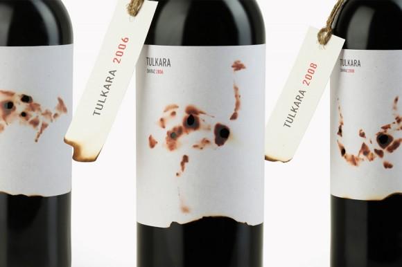 Этикетки вина Tulkara Shiraz