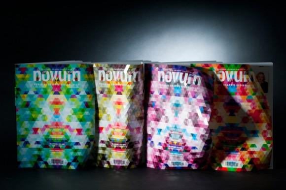 Журнал о графическом дизайне NOVUM