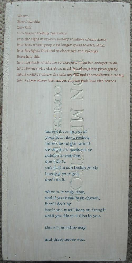 Chris Crites – Bukowski Box