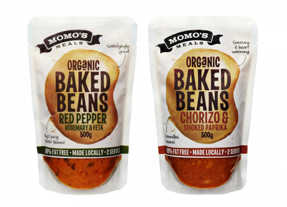 Упаковка готовых обедов Momo's meals
