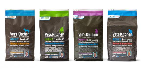 Упаковка корма для животных Vet's Kitchen