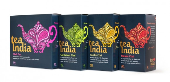 Упаковка чая Tea India