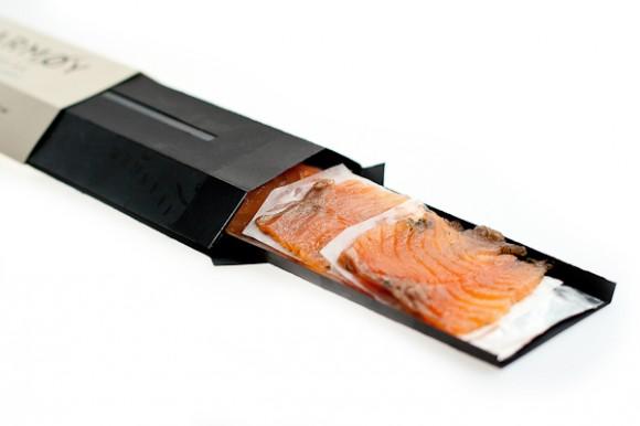 Упаковка для рыбных деликатесов