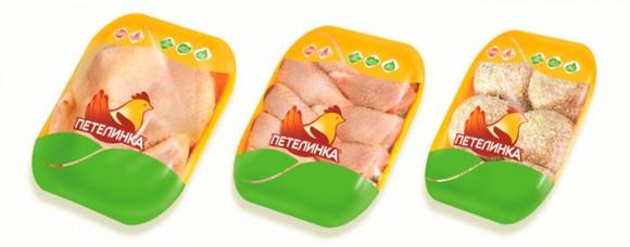 Ребрендинг куриных продуктов Петелинка