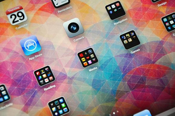 Обои для iPad Cuben