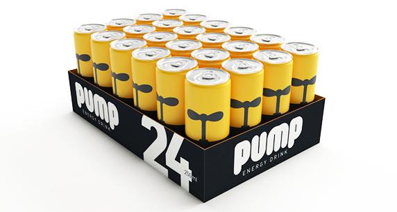 Энергетик «Pump»