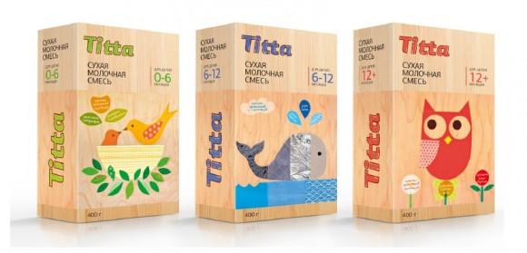 Концепт упаковки детских молочных смесей