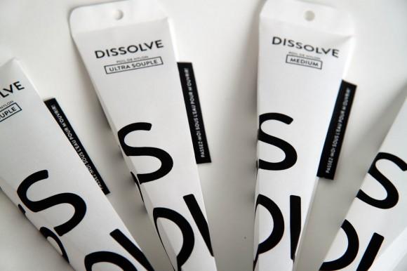 Концепт растворимой упаковки для зубной щетки