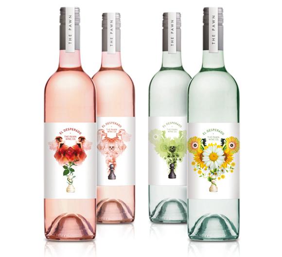 Этикетка вина – линзовидная печать