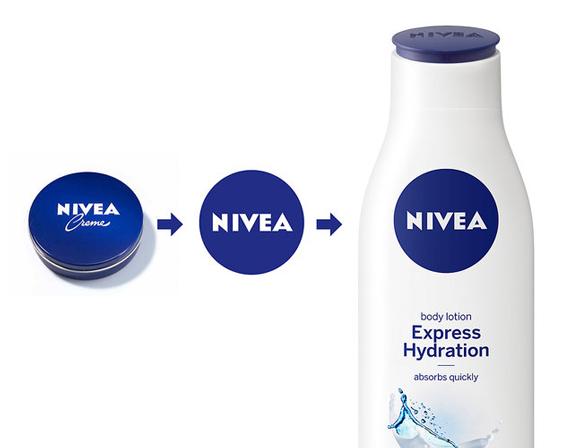 Nivea – пластмассовый флакон