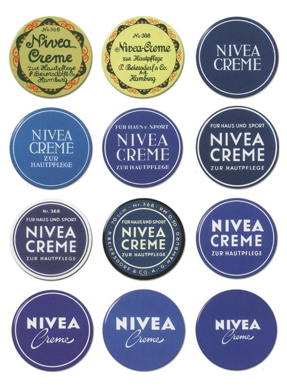 редизайн Nivea – развитие логотипа