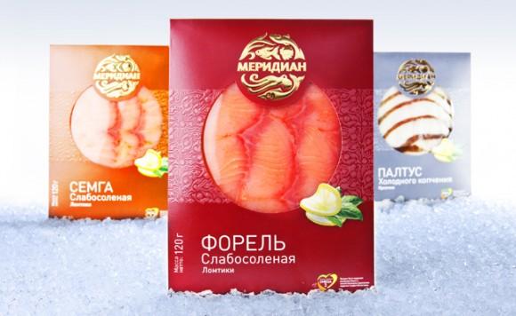 Упаковка рыбыных деликатесов