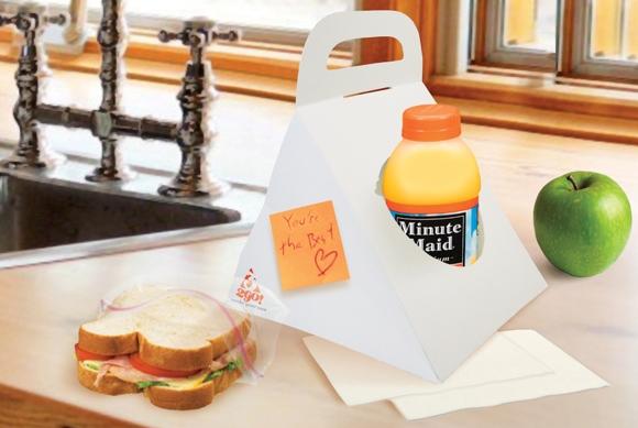 Конструкция упаковки для готовых обедов